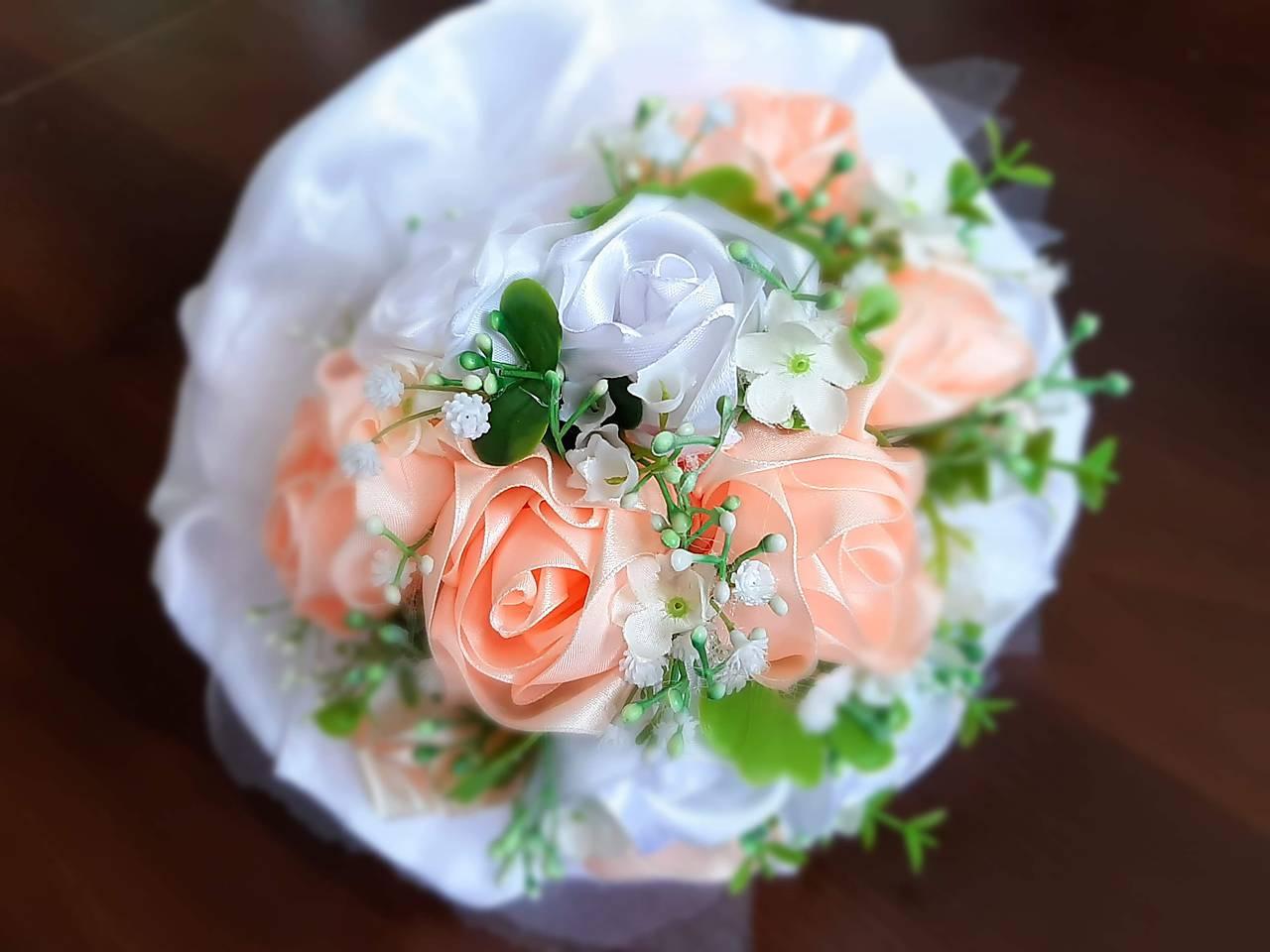 svadobná kytica marhuľová - Obrázok č. 1