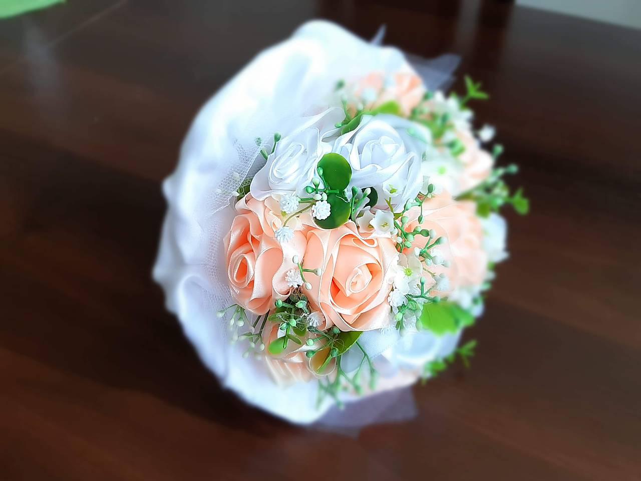 svadobná kytica marhuľová - Obrázok č. 4