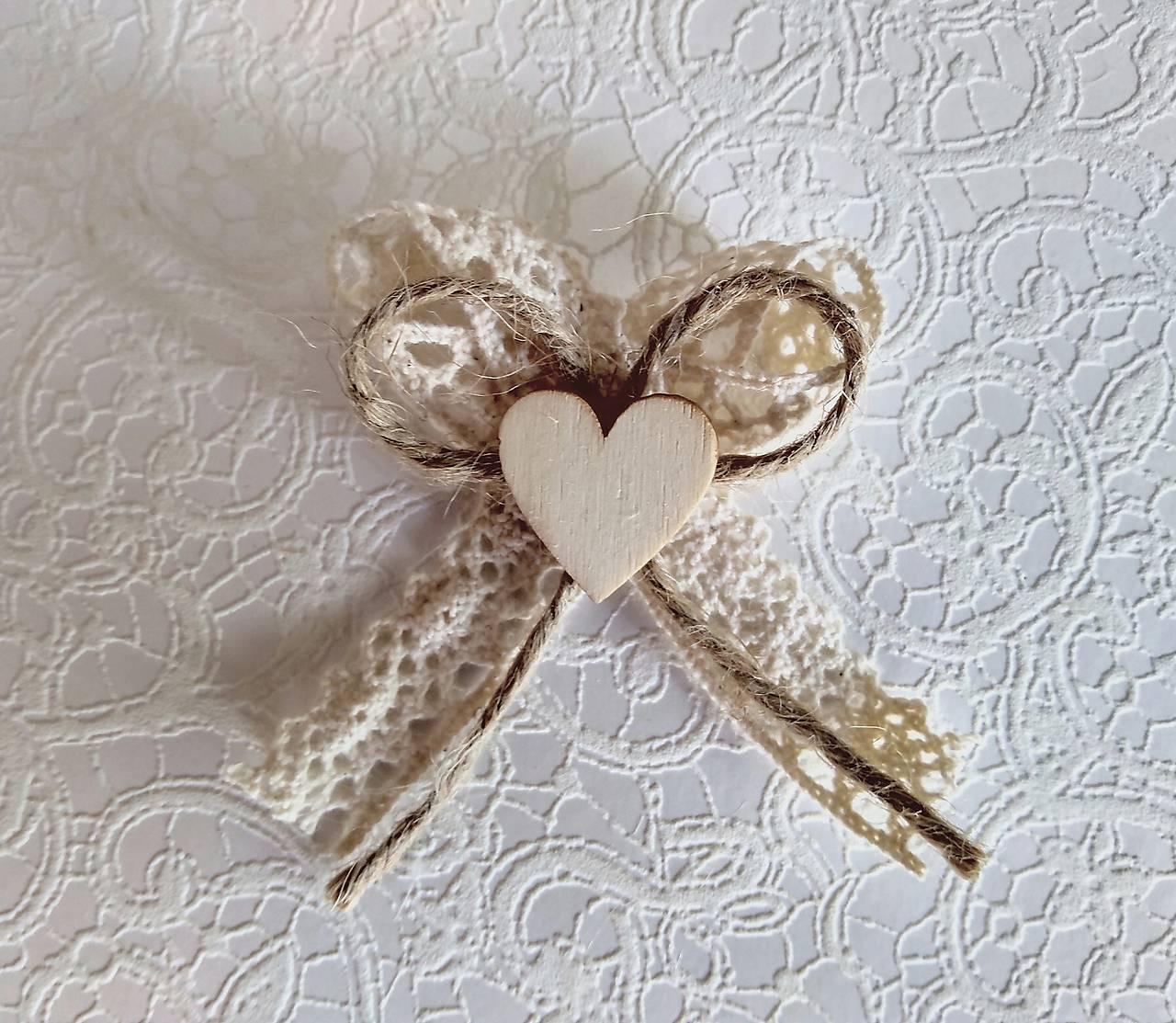 svadobné pierka vintage so srdiečkom - Obrázok č. 1