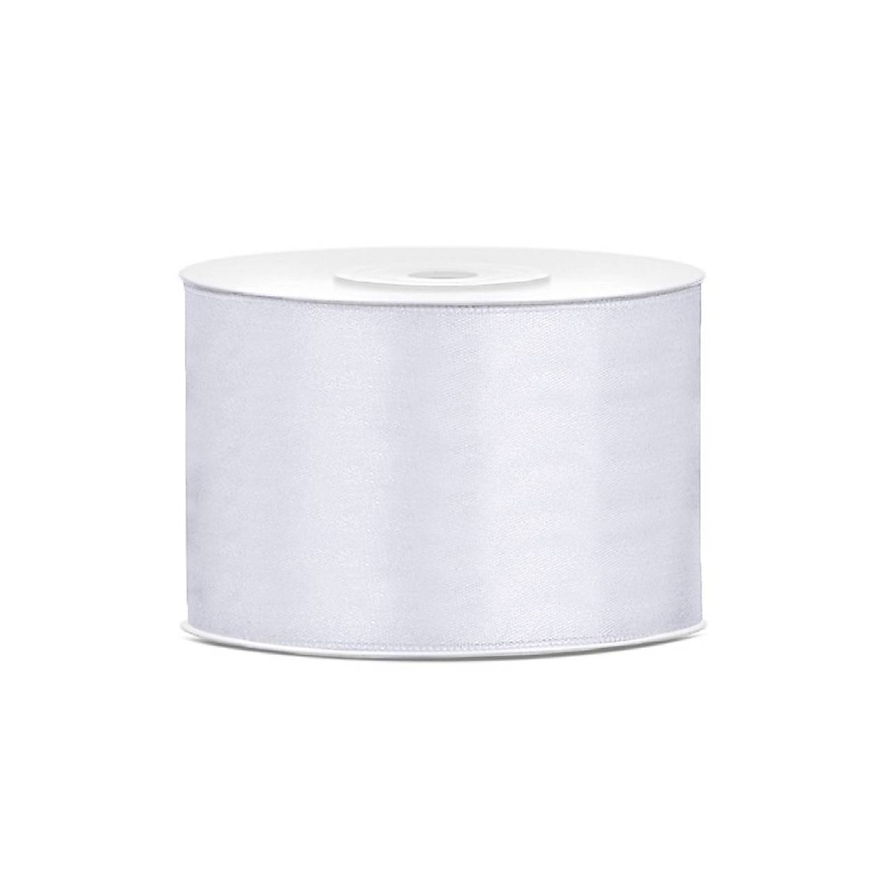 saténová stuha 38 mm biela - Obrázok č. 1