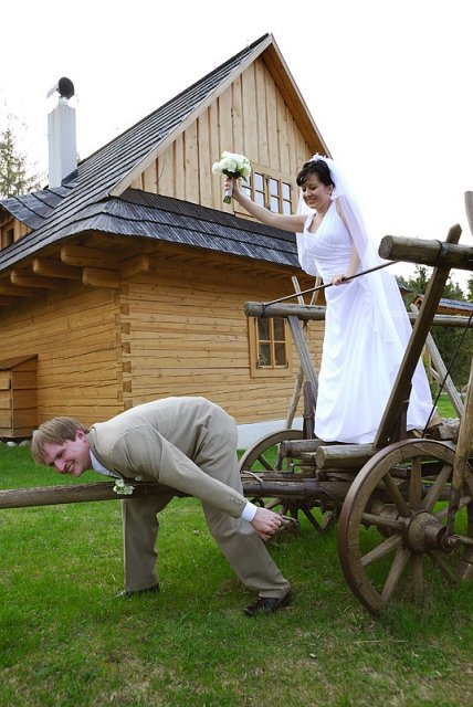 Dana Kompišová{{_AND_}}Jaroslav Vrabec - a na oplátku manželka v akcii...:-)