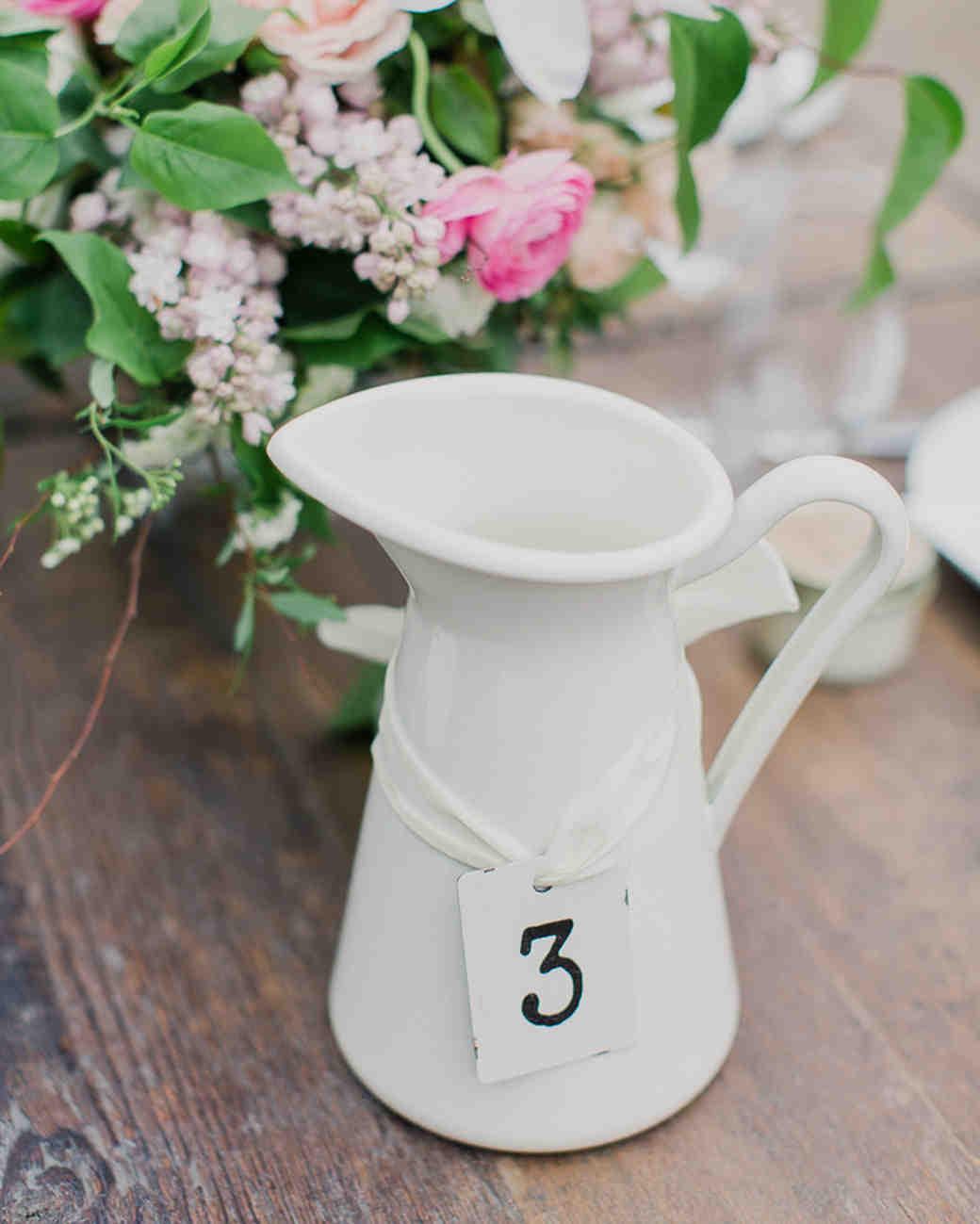 Nápady na číslování svatebních stolů - Obrázek č. 1
