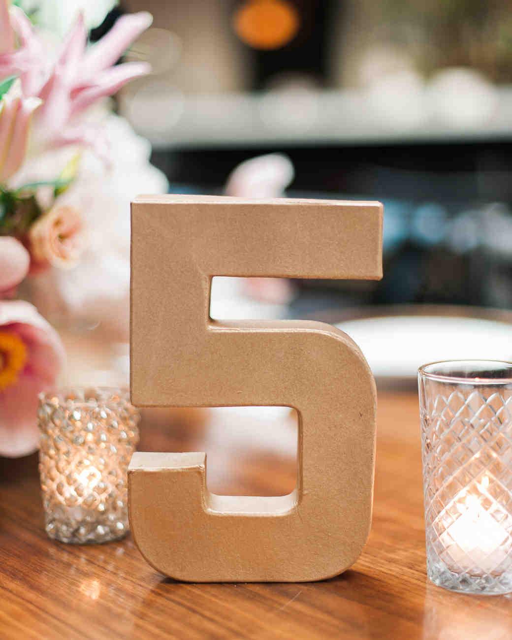 Nápady na číslování svatebních stolů - Obrázek č. 2