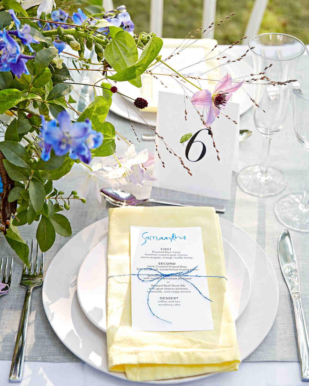 Nápady na číslování svatebních stolů - Obrázek č. 3