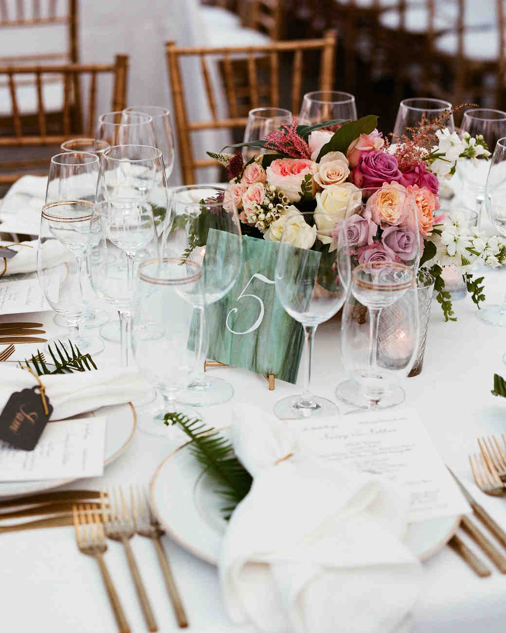 Nápady na číslování svatebních stolů - Obrázek č. 4