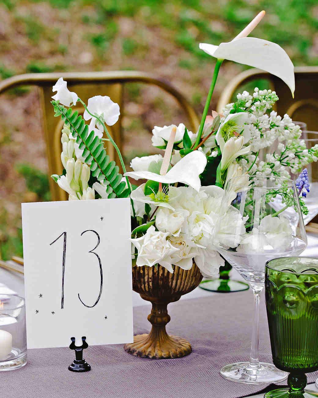 Nápady na číslování svatebních stolů - Obrázek č. 5