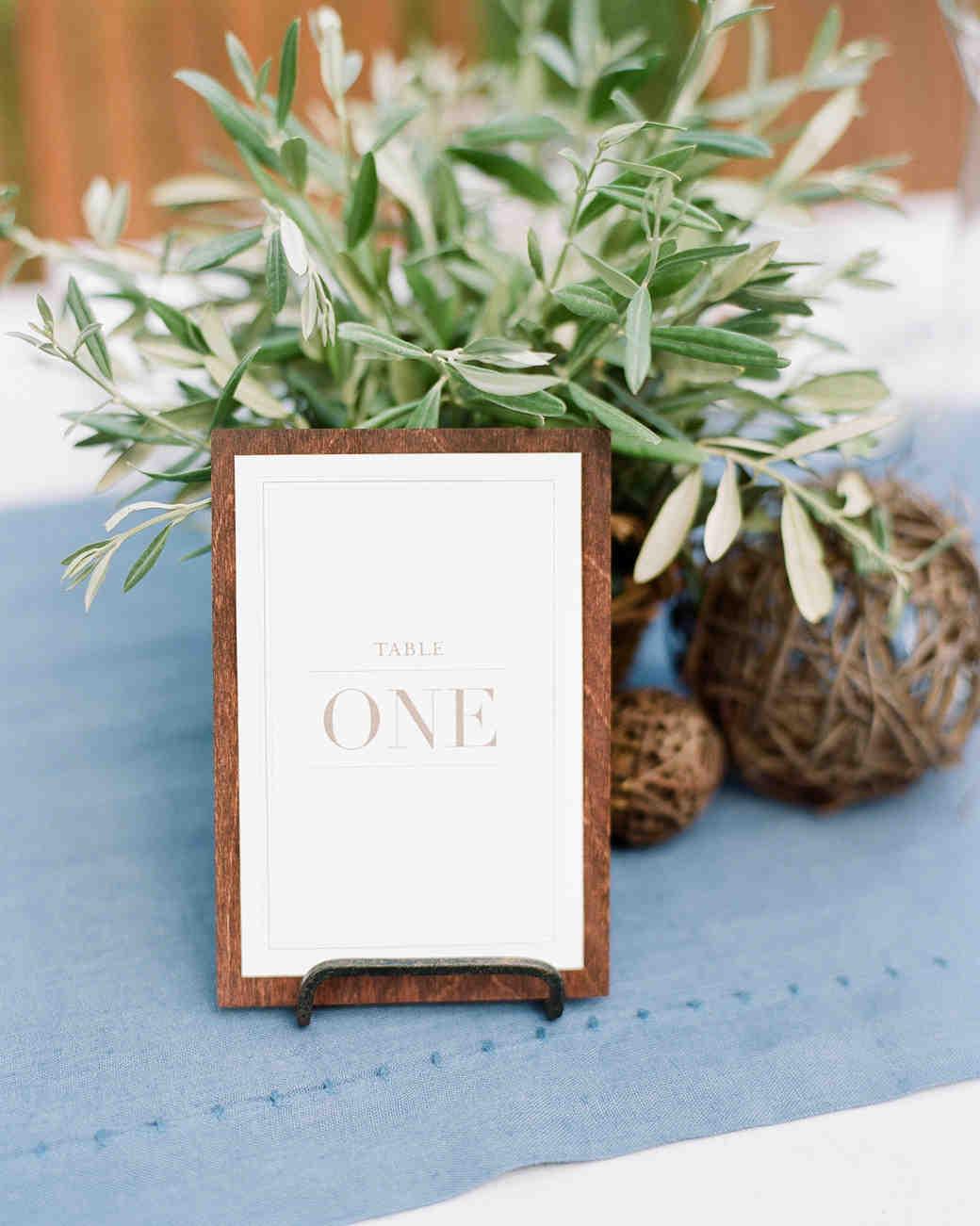 Nápady na číslování svatebních stolů - Obrázek č. 7