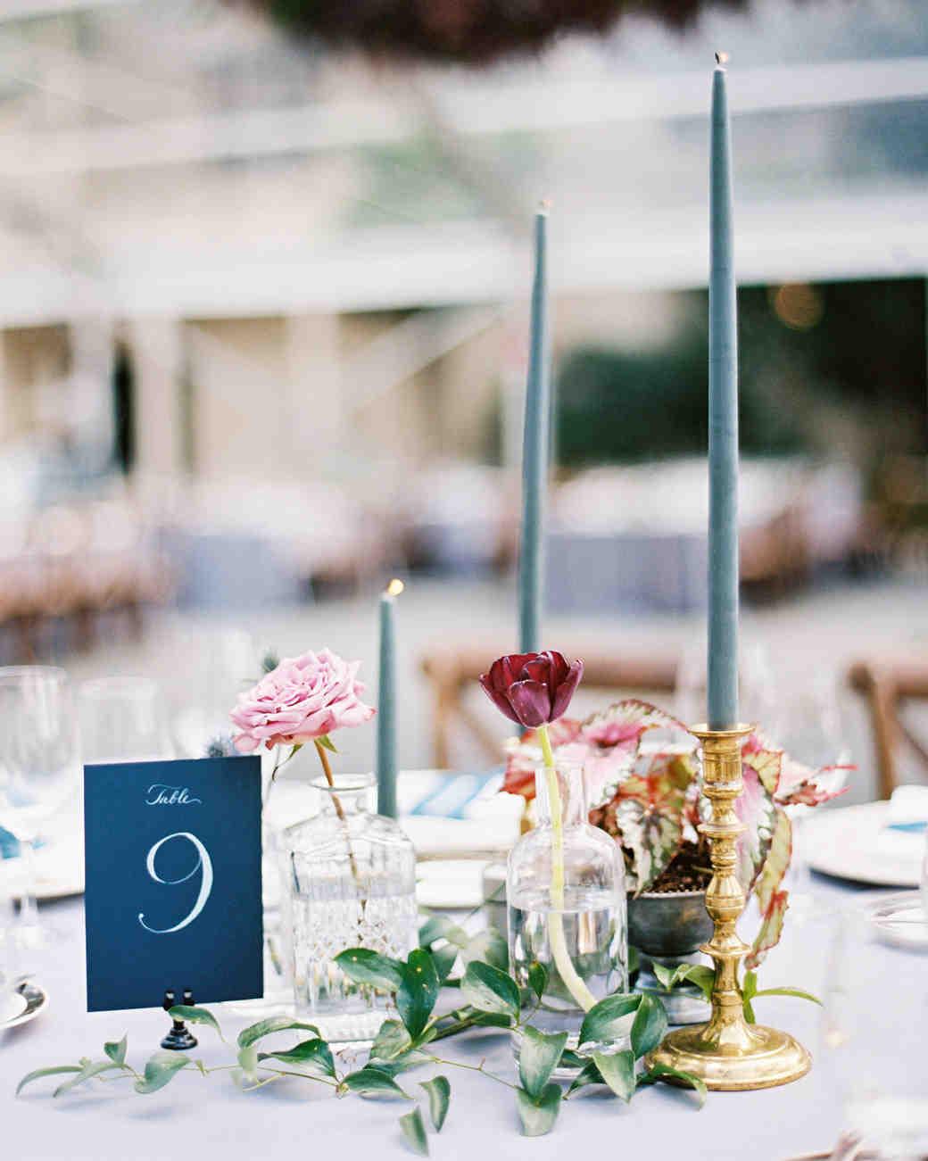 Nápady na číslování svatebních stolů - Obrázek č. 9