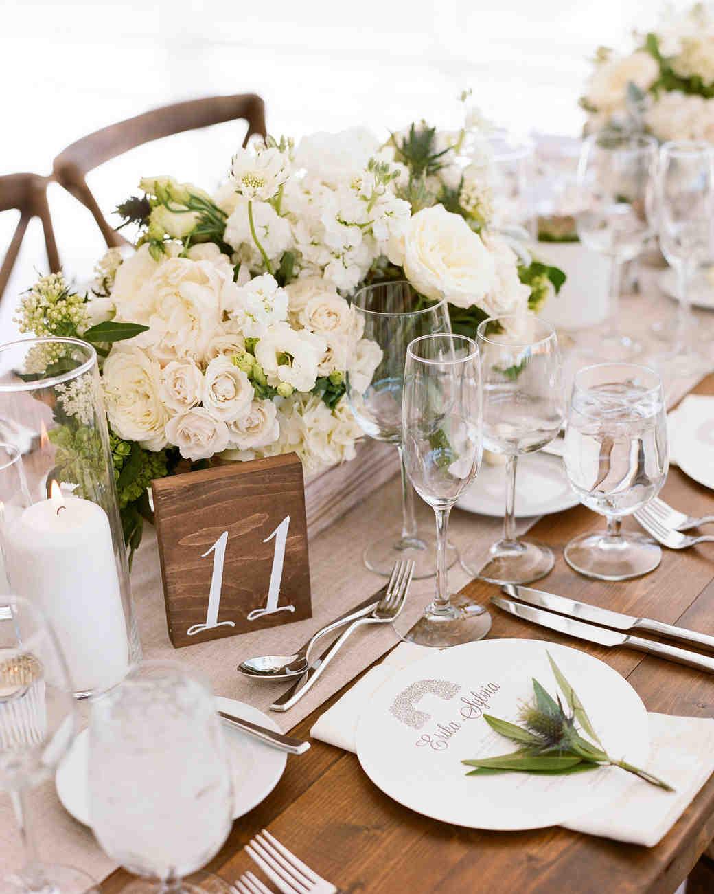 Nápady na číslování svatebních stolů - Obrázek č. 10