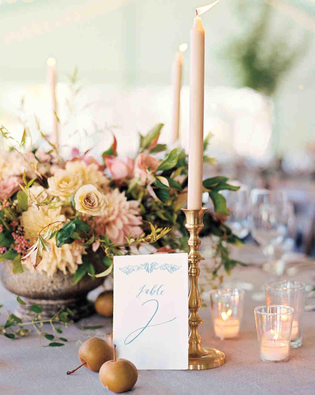Nápady na číslování svatebních stolů - Obrázek č. 11