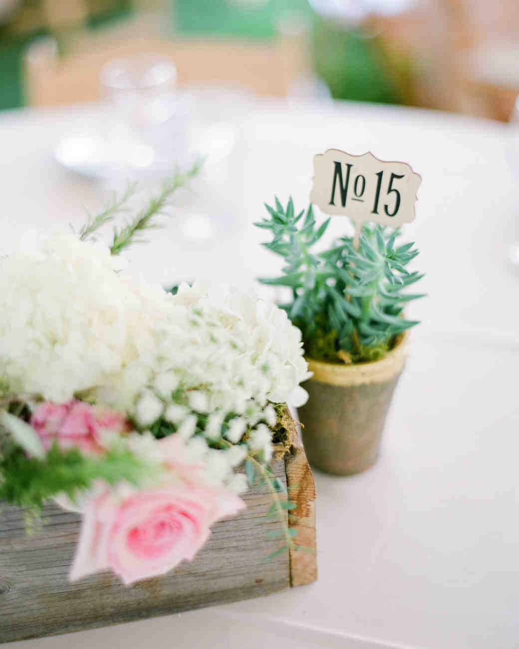 Nápady na číslování svatebních stolů - Obrázek č. 15