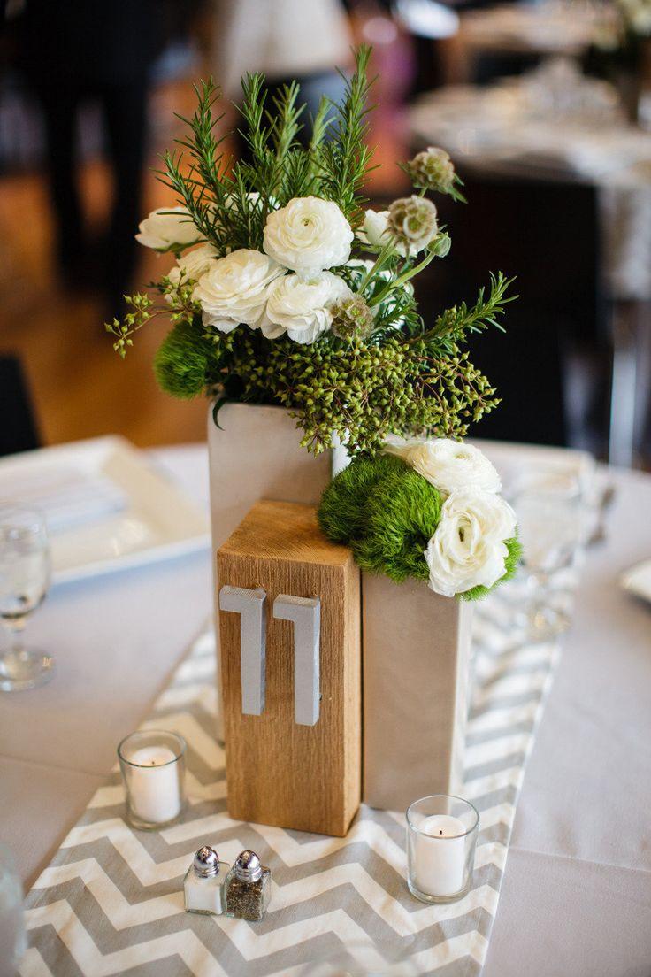 Nápady na číslování svatebních stolů - Obrázek č. 20