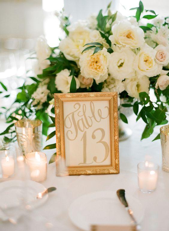 Nápady na číslování svatebních stolů - Obrázek č. 22