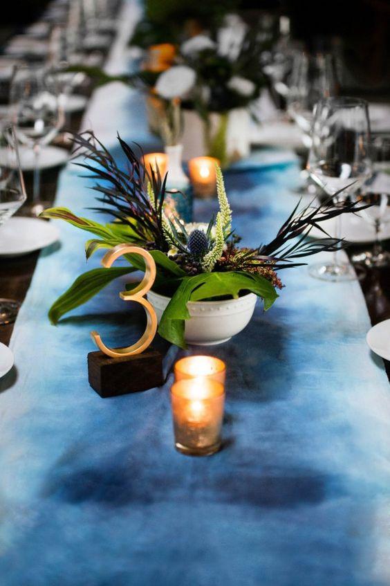 Nápady na číslování svatebních stolů - Obrázek č. 23