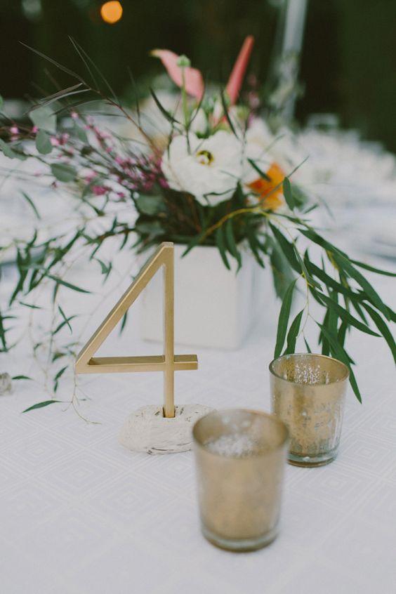 Nápady na číslování svatebních stolů - Obrázek č. 26