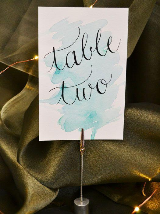 Nápady na číslování svatebních stolů - Obrázek č. 31