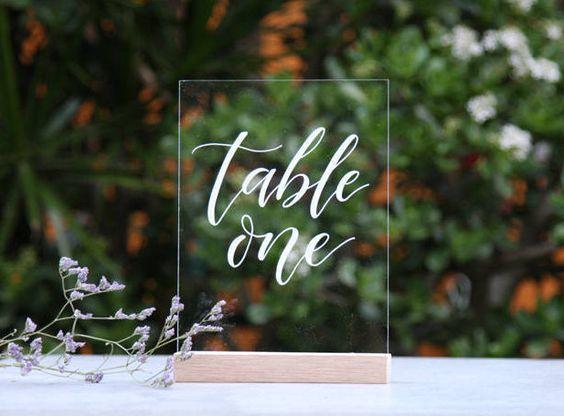 Nápady na číslování svatebních stolů - Obrázek č. 33