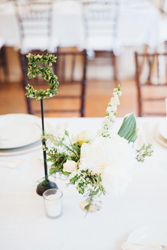 Nápady na číslování svatebních stolů - Obrázek č. 35
