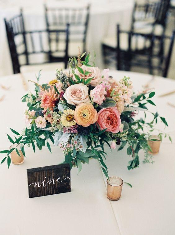 Nápady na číslování svatebních stolů - Obrázek č. 43
