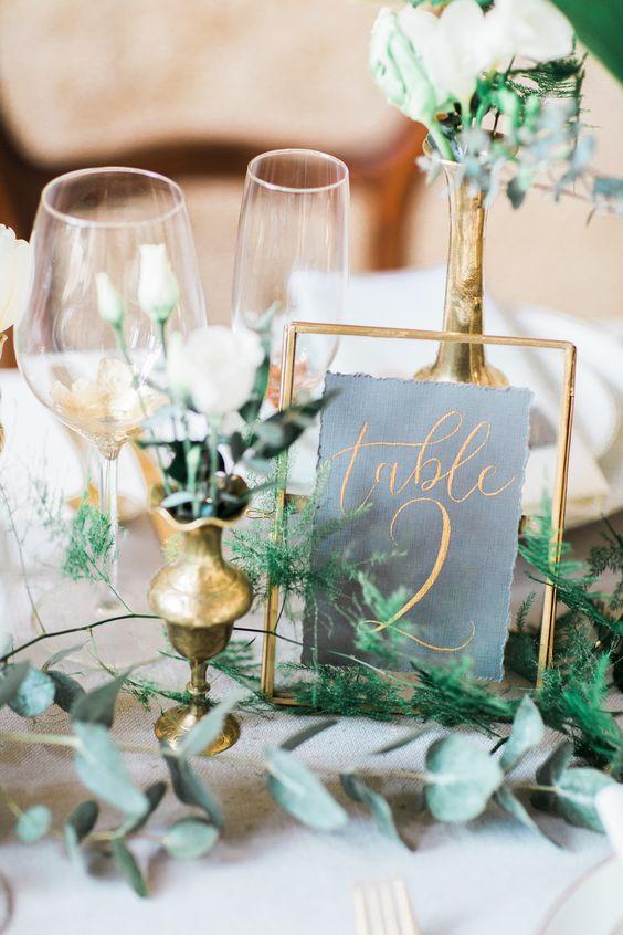 Nápady na číslování svatebních stolů - Obrázek č. 47