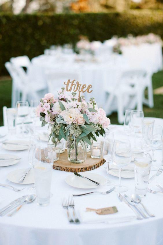 Nápady na číslování svatebních stolů - Obrázek č. 57