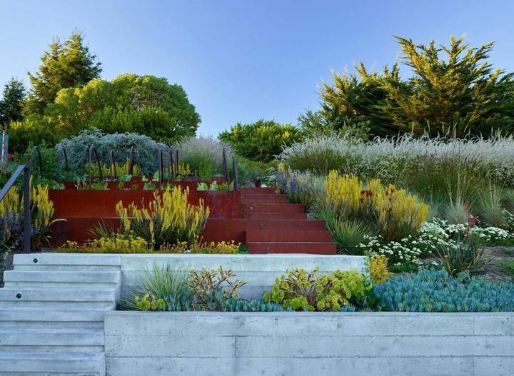 Zahrada ve svahu - inspirace - Obrázek č. 5