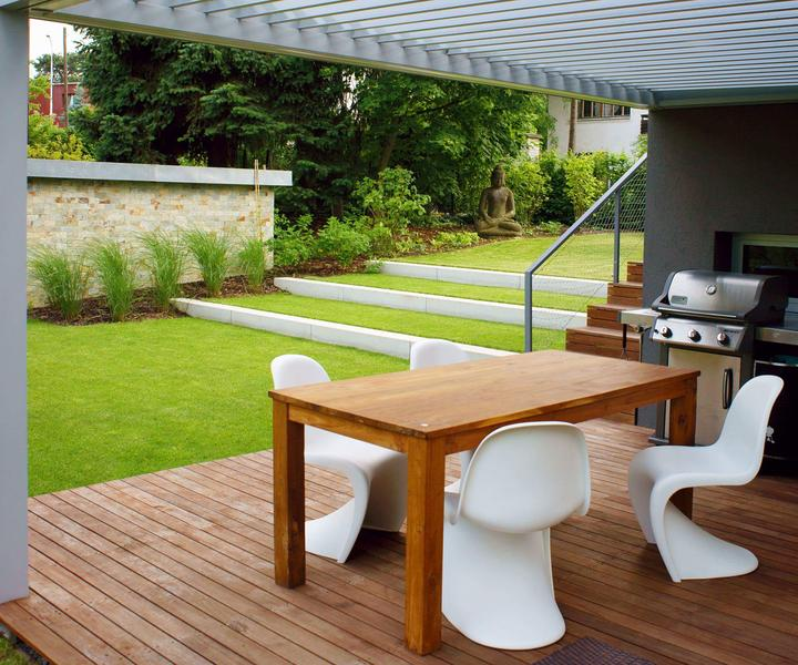 Zahrada ve svahu - inspirace - Obrázek č. 8