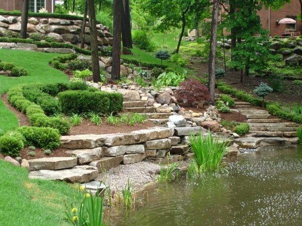 Zahrada ve svahu - inspirace - Obrázek č. 10