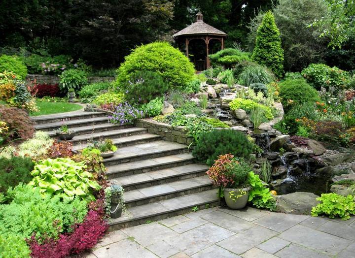 Zahrada ve svahu - inspirace - Obrázek č. 3