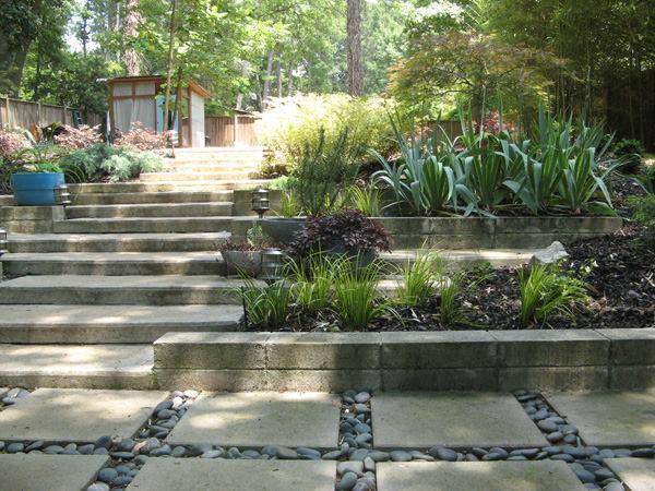 Zahrada ve svahu - inspirace - Obrázek č. 15