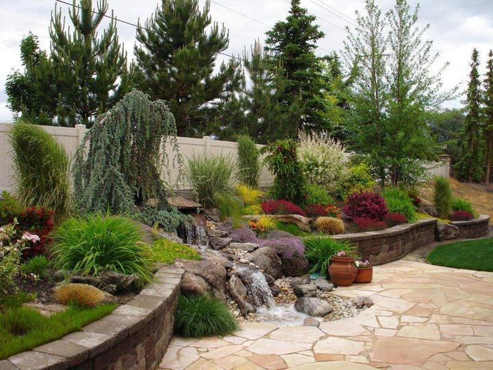Zahrada ve svahu - inspirace - Obrázek č. 20