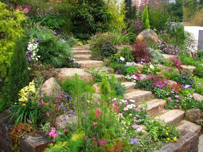 Zahrada ve svahu - inspirace - Obrázek č. 21