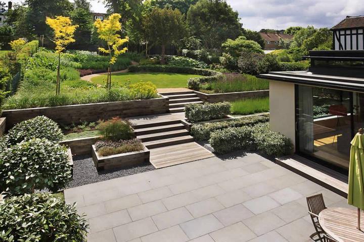 Zahrada ve svahu - inspirace - Obrázek č. 27