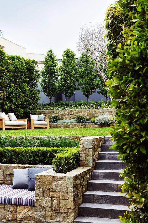 Zahrada ve svahu - inspirace - Obrázek č. 28