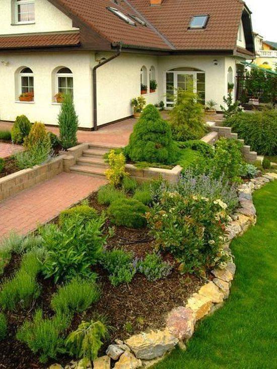 Zahrada ve svahu - inspirace - Obrázek č. 36