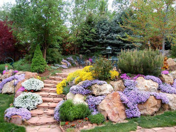 Zahrada ve svahu - inspirace - Obrázek č. 39