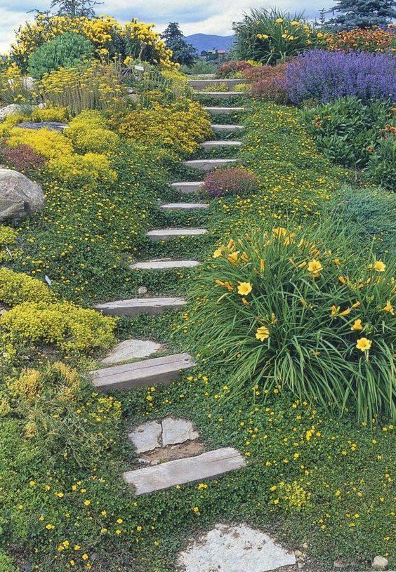 Zahrada ve svahu - inspirace - Obrázek č. 45