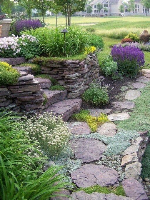 Zahrada ve svahu - inspirace - Obrázek č. 46