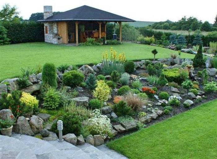 Zahrada ve svahu - inspirace - Obrázek č. 47