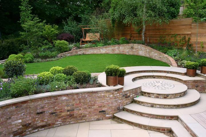 Zahrada ve svahu - inspirace - Obrázek č. 53