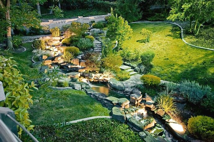 Zahrada ve svahu - inspirace - Obrázek č. 55