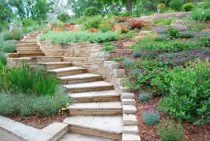 Zahrada ve svahu - inspirace - Obrázek č. 56