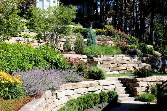Zahrada ve svahu - inspirace - Obrázek č. 62