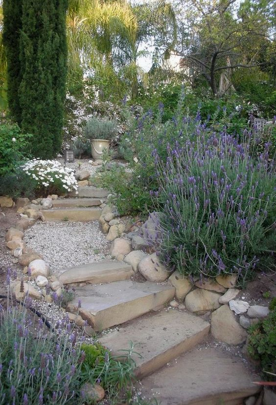 Zahrada ve svahu - inspirace - Obrázek č. 63