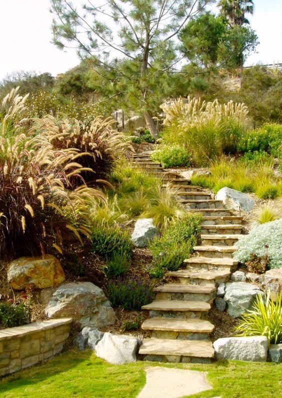 Zahrada ve svahu - inspirace - Obrázek č. 65