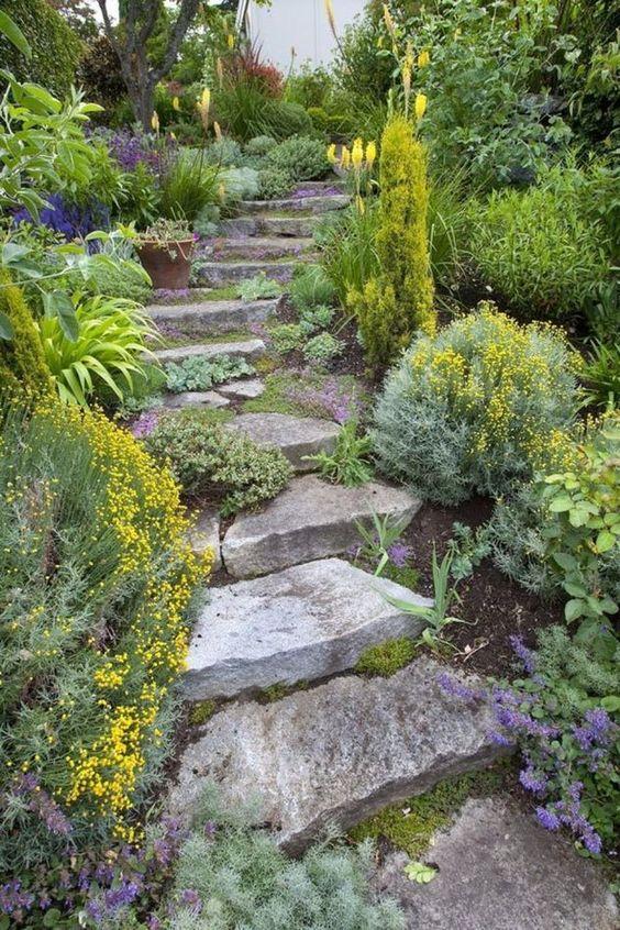 Zahrada ve svahu - inspirace - Obrázek č. 66