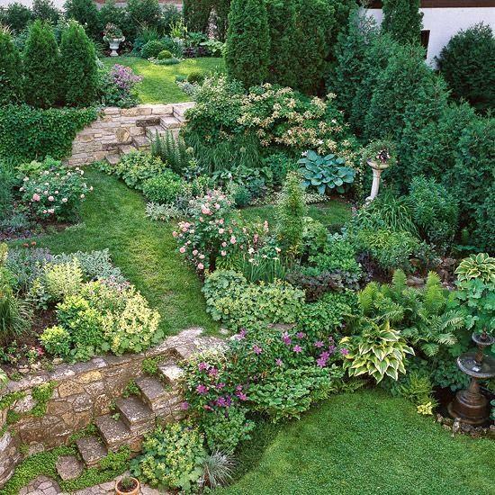 Zahrada ve svahu - inspirace - Obrázek č. 67