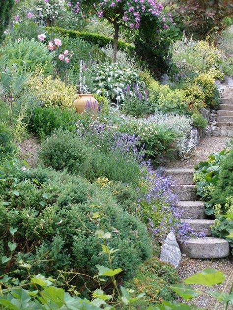 Zahrada ve svahu - inspirace - Obrázek č. 70