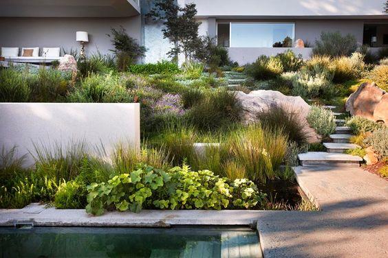 Zahrada ve svahu - inspirace - Obrázek č. 81