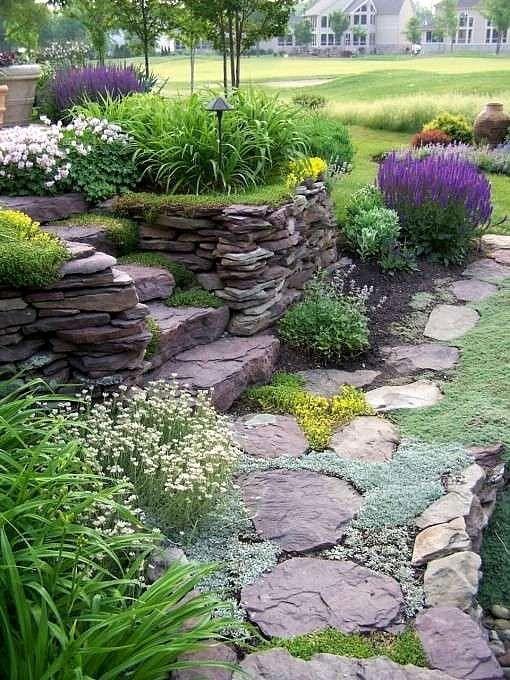 Zahrada ve svahu - inspirace - Obrázek č. 82